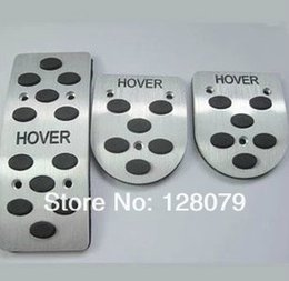 Wholesale Great Wall H6 - 3 navigator Great Wall aval over H3 H5 H6 M2 M4 MT AT aluminum alloy car pedals foot pedal