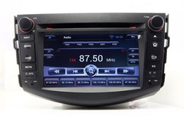 Wholesale Touch Screen Stereo For Rav4 - Android 4.4 Car DVD Player Radio for Toyota RAV4 2006-2012 with GPS Navigation Bluetooth TV USB SD AUX Audio Stereo WIFI