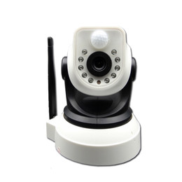 Wholesale Camera Ptz Sale - 2015 Big Sale CCTV Wireless IP camera PTZ Pan Tilt TF Card Slot and IR Cut PIR Alarm Telephone Alarm wifi ip camera FreeShipping