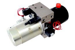 Wholesale Unit Manufacturing - hot wholesale manufacture factory hydraulic power packing unit for snow plows hydraulic gear pumping motor 1.5KW 12V