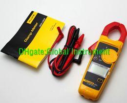 Tester di volt online-FLUKE 302+ Multimetro digitale portatile con pinza amperometrica DMM AC / DC Volt F302