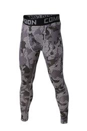 Pantalon de compression en gros-sport sport pantalon de jogging spandex cyclisme running basket-ball collants de peau pour hommes couches de base pantalon long athlétique ? partir de fabricateur