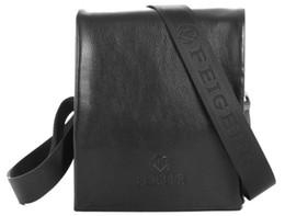 Wholesale Male Shoulder Cross Body Bag - Wholesale-Feigeer Man Bag PU Leather Shoulder Messenger Bag Male Vintage Business Casual Hasp Double Zipper Bag Men