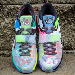 Wholesale Cheap Men Kd Shoes - 2016 New Kevin Durant What the KD 7 VII MVP SE Glow In Dark,Cheap KD7 Men Basketball Shoes,Men's Kds Sport Shoes for sale