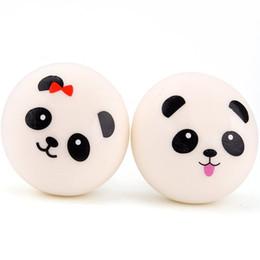 "Canada 2,8 ""Slow Rising Squishies Jumbo Panda Squishies Buns Squishy Panda Pain Porte-clés Jouet Squishy (Style aléatoire) Offre"