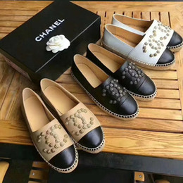 Wholesale Top Quality Leather Dress Shoe - New Fashion Women's Casual Shoes 100% genuine leather fisherman shoes Dress Shoe Brand Woman loafers Shoes Top Quality