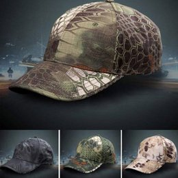Wholesale Patrol Cap Camo - Wholesale 2015 Hot Baseball Cap Hat Casual Outdoor Sports Hats for Men Women Military Army Camo Patrol Hat