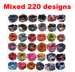 Wholesale Magic Head Scarf - Drop Shipping! 10pcs stylish seamless magic ride magic anti-UV bandana headband scarf hip-hop multifunctional bandana Outdoor Head scarf