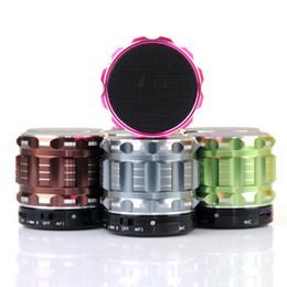 2019 mini-box für mp3 S28 Lautsprecher Bluetooth TF Einbauschlitz Super Bass Metall Lautsprecher Box Unterstützung FM Radio MP3 Player DHL geben MIS094 frei günstig mini-box für mp3