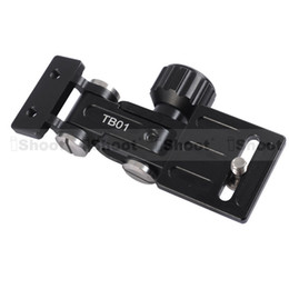 Wholesale Camera Support Brackets - Wholesale-iShoot Telephoto Zoom Lens Bracket LongFocus Lens Support Holder for Camera BallHead Quick Release Plate and Tripod Mount Ring