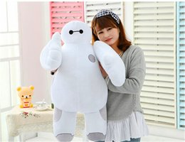 Wholesale Plush Stuffed Animals Free Shipping - Hot sale 12inch 30cm Big Hero 6 Baymax Robot Hands Moveable Stuffed Plush Animals Toys Gfit for kids Free Shipping