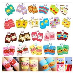 Wholesale Knee Sleeve Sock - Baby Leg Warmers Knee Cap Baby Socks Winter Cotton Knee High Socks Sleeve Knee Infant Knee Pads Protector Toddler Girl Legging Socks m0862