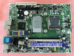 Placas base 775 ddr3 online-Tablero del equipo industrial para la placa madre original Pro 6000 SFF, 531965-001 503362-001 DDR3 Q43 socket 775 trabajo perfecto