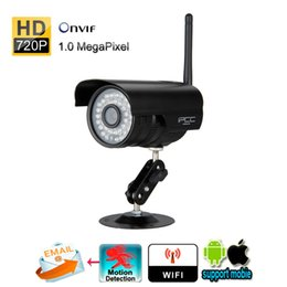Wholesale Hd Tech - IPCC Smart IP Camera Wifi Wireless 1.0MP 720P HD IP66 Waterproof Night Vision P2P Tech For Easy Access of iPhone Android