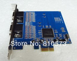 Wholesale Pci Dvr Card Real - 8-Channel Cameras D1 Video Audio Real time Capture PCI-E DVR Card 8CH Full D1 Record