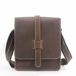 All ingrosso-Produttori all ingrosso uomini borse messenger valigetta Crazy  Horse Leather Satchel Bags borsa da viaggio in pelle da uomo borsa da  viaggio in ... 734081e2b5c