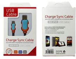 Cavo di ricarica Micro USB in acciaio con cavo 1.5M 5FT Cavo di ricarica dati a 5pin intrecciato lungo per Samsung S3 S4 S5 HTC M7 M8 da