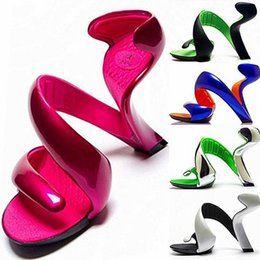 Wholesale Ms Summer - 2016 Summer New Sandals Europe and Fashion Bottomless High-heeled shoes Ms Sandals Wedding Shoes