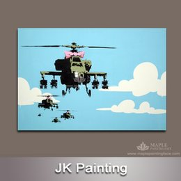Wholesale Decorative Wall Art Paintings - Modern Banksy Canvas Wall Art Painting wholesale wall art painting from China manufactory for Living Room Decorative Painting