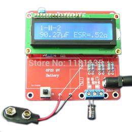 Wholesale Transistor Tester Inductance - New M168 DIY Kit Capacitance ESR Inductance Transistor LC Resistor Meter Tester NPN PNP Mosfet