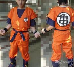 Wholesale Goku Costume Female - Wholesale-Dragon Ball Z Cosplay GoKu cosplay costume