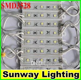 Wholesale Smd 65 - SMD 3528 IP 65 waterproof LED modules sign letters back light 3 led 0.72W 42lm DC 12V LED RGB module light lamp