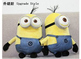 Wholesale Minion Plush Toy Small - The new Minions Small yellow people Despicable Me doll 3D eyes plush toys 20cm40cm60cm SYP-2015-002 Free Shipping