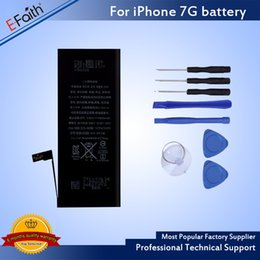 Wholesale Replacement Ups Batteries - Wholesale-Grade A+++ Quality Internal Built-in Li-ion Replacement Battery For iPhone 7 iPhone 7 Plus & Free UPS Shipping
