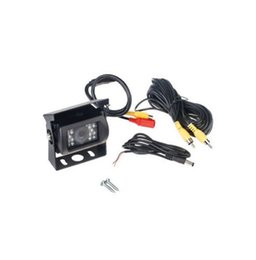 Wholesale Ccd Truck Camera - CCD Car Rear View Reverse Bus Camera For Truck Van Trailer Buses Night Vision