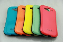 Wholesale Iface Mall - New iface mall Candy Color Soft Korea style case For iphone 5s 7 7plus 6 plus Samsung galaxy s5 s6 edge note 4 note 7