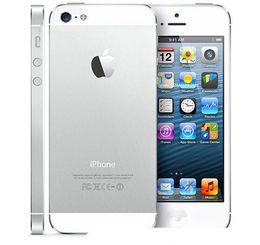 apple iphone baterías de teléfono celular Rebajas Reacondicionado original Apple iPhone 5 con pantalla original Batería original iOS 8.0 16GB / 32GB / 64GB 8MP desbloqueado teléfono celular