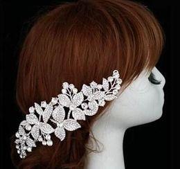 Wholesale Bridal Accessories Suppliers - Wedding Bridal Hair Accessories XT-3553 wedding party headwear rhinestone crystal Pins Princess headdress Tiara Jewelry Suppliers TS4