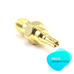 Wholesale Modem Antenna Connectors - 5pcs SMA female to CRC9 male coaxial adapter connector for 3G USB Modem antenna
