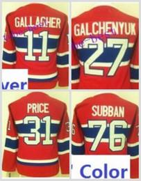 Wholesale Alex Galchenyuk Jersey - Ladies Montreal Canadiens 31 Carey Price 76 PK Subban 11 Brendan Gallagher 27 Alex Galchenyuk 67 Max Pacioretty Hockey Jersey