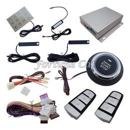 Wholesale Keyless Entry Remote Start Alarm - Smart Passive Keyless Entry Car Alarm System With Remote Start Automatic Lock Or Unlock & Password Keyboard