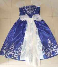 Wholesale Dress Sleep Skirt - HOT SALE !2015 girls summer holiday dress party dress skirt fairy tale Sleeping Beauty Print Girl's Pageant Dresses