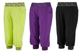 Wholesale Pants Dance Clothing - new arrival woman dance pants capri cargo pants yoga clothes AWESOME-TRON CARGO CAPRIS purple black green free shipping