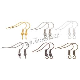 Boucles d'oreilles à levier en Ligne-Poisson Dangle Métal Fer Boucle D'oreille Fermoirs Crochets Levier Retour Boucle D'oreille Fils Raccords DIY pour les cadeaux féminins Résultats de Bijoux Accessoires