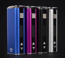 2019 ss dual battery mod Vape Mini 30 W Pacote Simples vara caixa mod Variável Potência 30 Watt vaporizador vara 10 W 20 W 50 W bateria em estoque