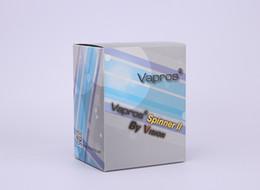 Wholesale Genuine Vision - 100% Genuine Vision Spinner 2 vision spinner II 1650mAh Ego twist 3.3-4.8V variable voltage battery Chrismas Gift