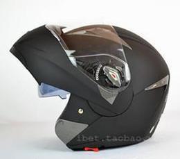 Wholesale Helmet Motorcycle Xs - Wholesale-size XS S available capacete casco motorcycle helmet Flip up Helmets dual lens glass sun visor helmet better than JIEKAI 105