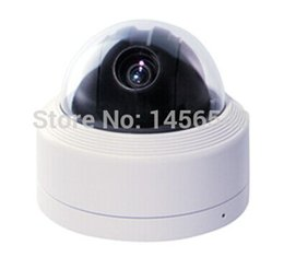 Wholesale Dome Ccd Zoom - Free shipping 10X ZOOM Sony CCD 700TVL PTZ camera CCTV high Speed Dome Camera waterproof IP66