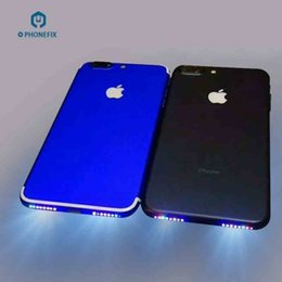 2019 lungo cavo di mele FIXPHONE Glowing Flex per Iphone 6 6S 6P 6SP 7 7P Altoparlante Foro Lucido Cavo flessibile Smart Phone Music Lamp