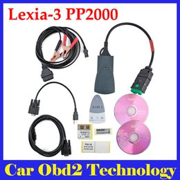 Wholesale Lexia Diagnostic - 2017 Newest Lexia3 Diagnostic Scanner Lexia 3 V48 PP2000 for Citroen Peugeot With Diagbox V7.83 Free Shipping