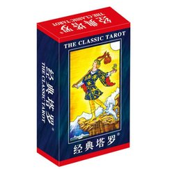 Wholesale International Cards - Wholesale- 78 pcs Set Classic Tarot Boxed Playing Card Tarot Board Game For Friends