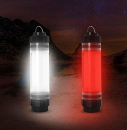 linterna sf Rebajas Portátil IP68 a prueba de agua recargable LED tienda de camping luz multifuncional al aire libre recorrido emergencia banco de energía lámpara de la linterna