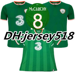 Wholesale ireland soccer jersey - 2018 World Cup Ireland soccer jerseys Republic of Ireland national team jersey 2018 World Cup Ireland KEANE Daryl home away football shirts
