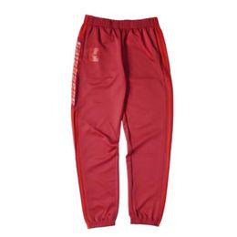Wholesale Hot Men Sweatpants - MEN Casual Trousers new hot sale Sweatpants season 4 cuffed pants Striped calabasas Joggers Asian size