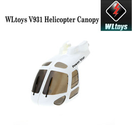 Original WLtoys V931 6CH 3D Scale RC Hélicoptère Canopy AS350 Commande sur la pièce $ 18aucun rail ? partir de fabricateur