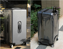 Wholesale Protective Suitcase Covers - Clear Protective Skin Cover Protector for RIMOWA Topas Sports Luggage ,Best Fits 75 size 93275 92075, anti-stain, anti-scratch , Sports fans
